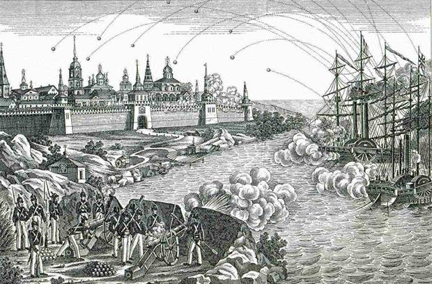 Крымская война: Соловецкий цугцванг